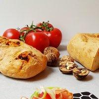 Kopfkino & Stangenbrot mit Chorizo und Walnüssen {Rezept}