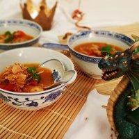 Thai-Hühnchensuppe - die leckerste ErkältungsMedizin