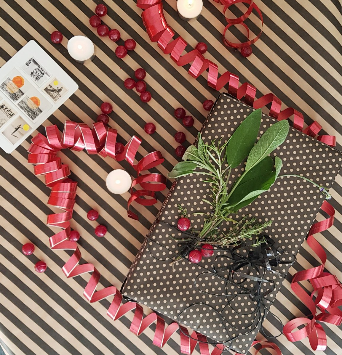 Die aufklappbare Geschenkbox