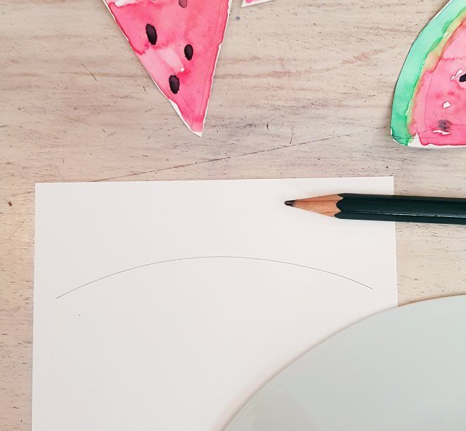 Wassermelone malen aquarell - vorzeichnen.jpg
