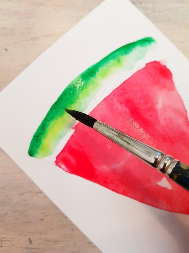 Wassermelone aquarell Schale malen.jpg