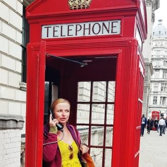 Telefonhäuschen britisch London