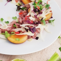 Mein Besuch in London & Jamie Oliver's Fifteen {Thunfisch-Ceviche}