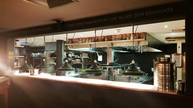 Küche kitchen Jamie Oliver`s Fifteen