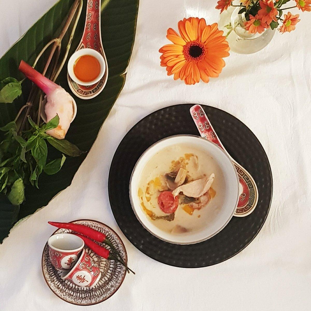 Tom Kha Gai - die Königin der Suppen