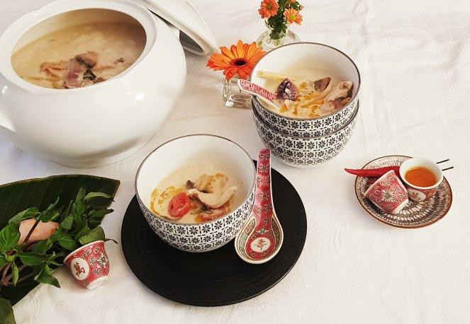 Rezept für Tom Kha Gai und Tom Kha Gung
