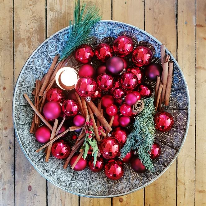 Adventdeko - bevor der Weihnachtsbaum ins Haus kommt