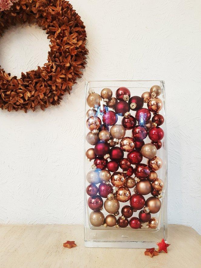 Weihnachtsdekoration -  einfach und dabei schlicht und edel