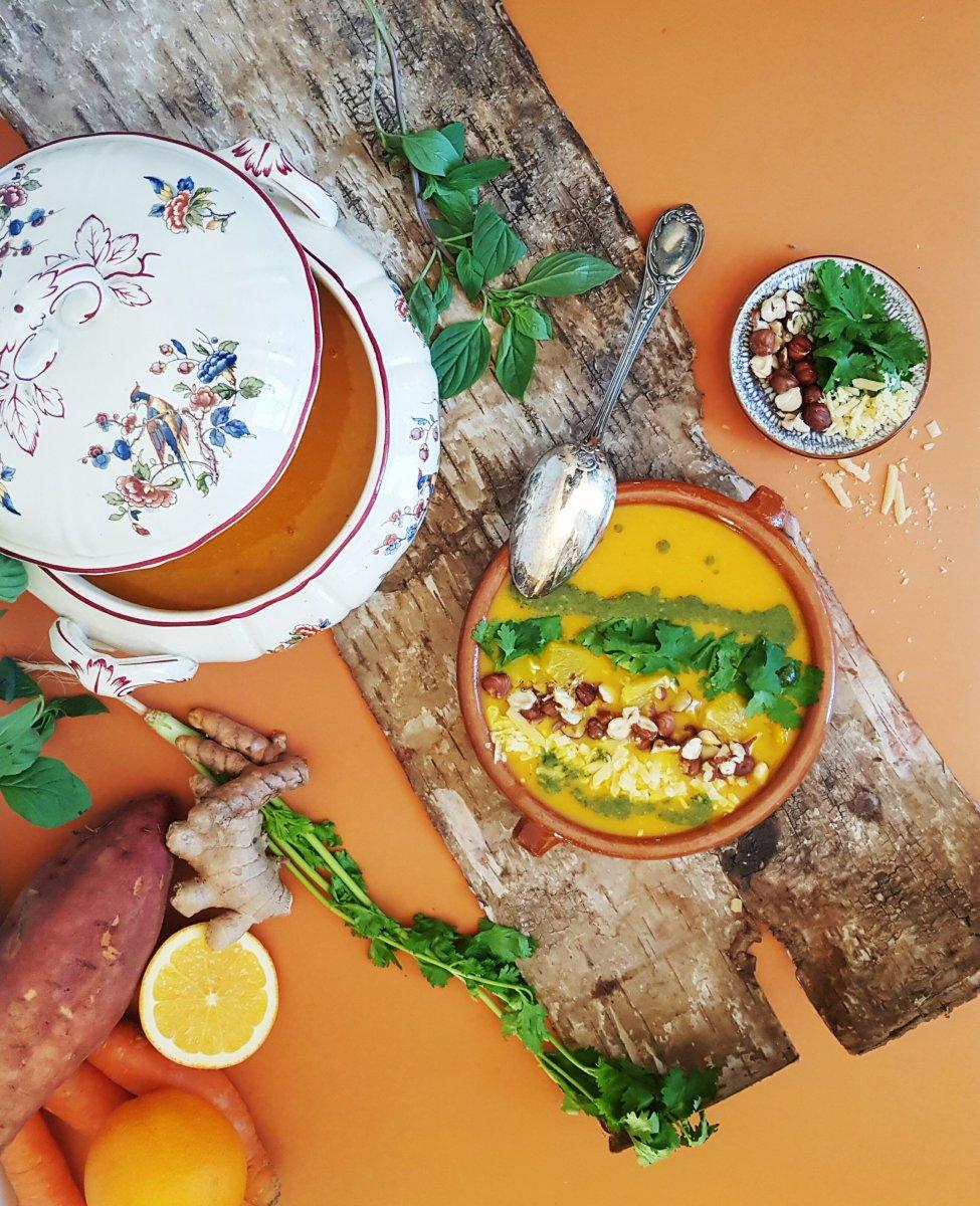 Suppe á l`Orange