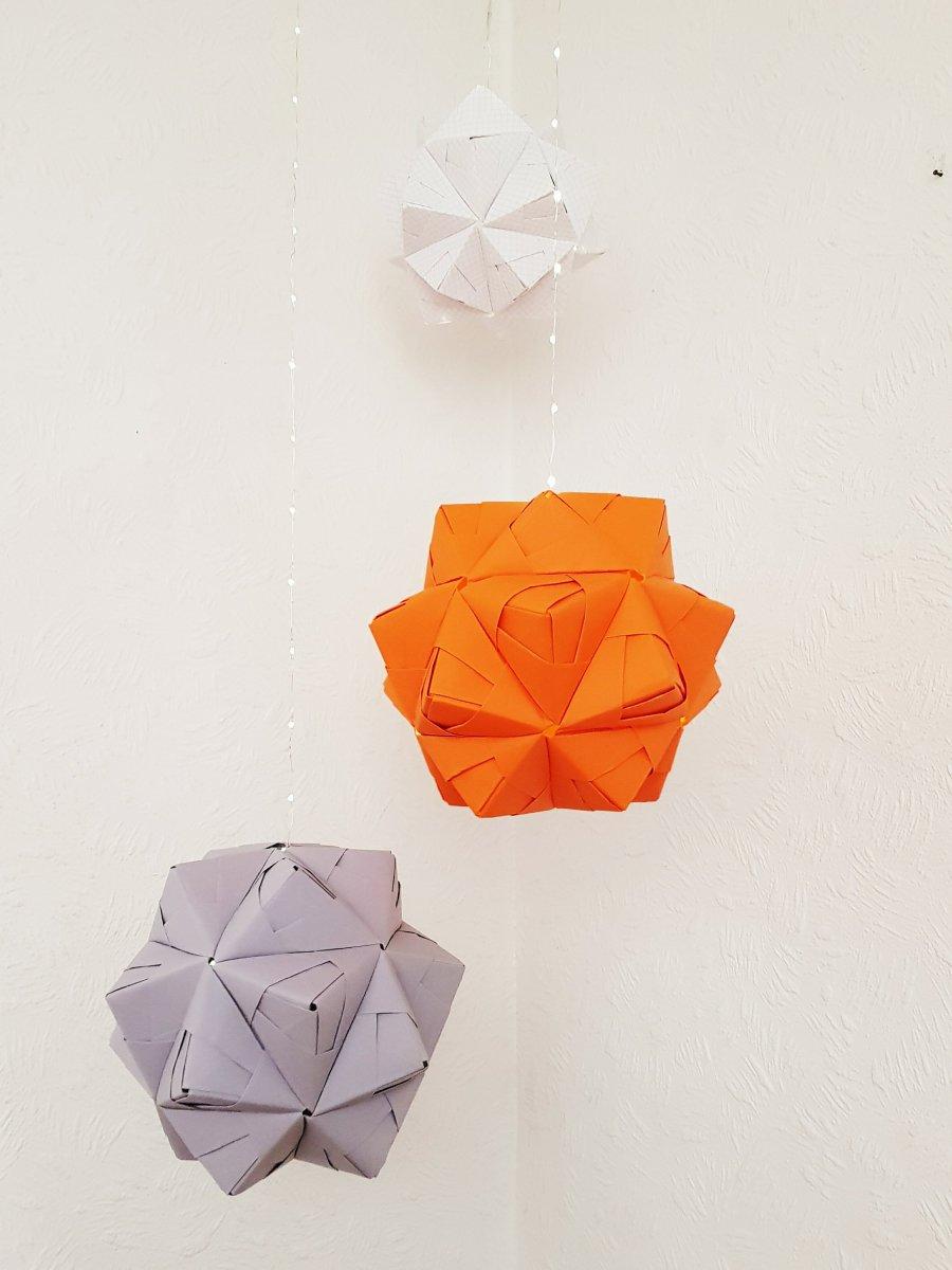Riesige Papiersterne {DIY}