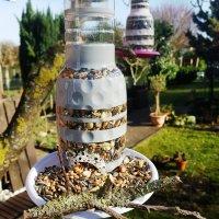 Futterspender für Vögel {DIY}