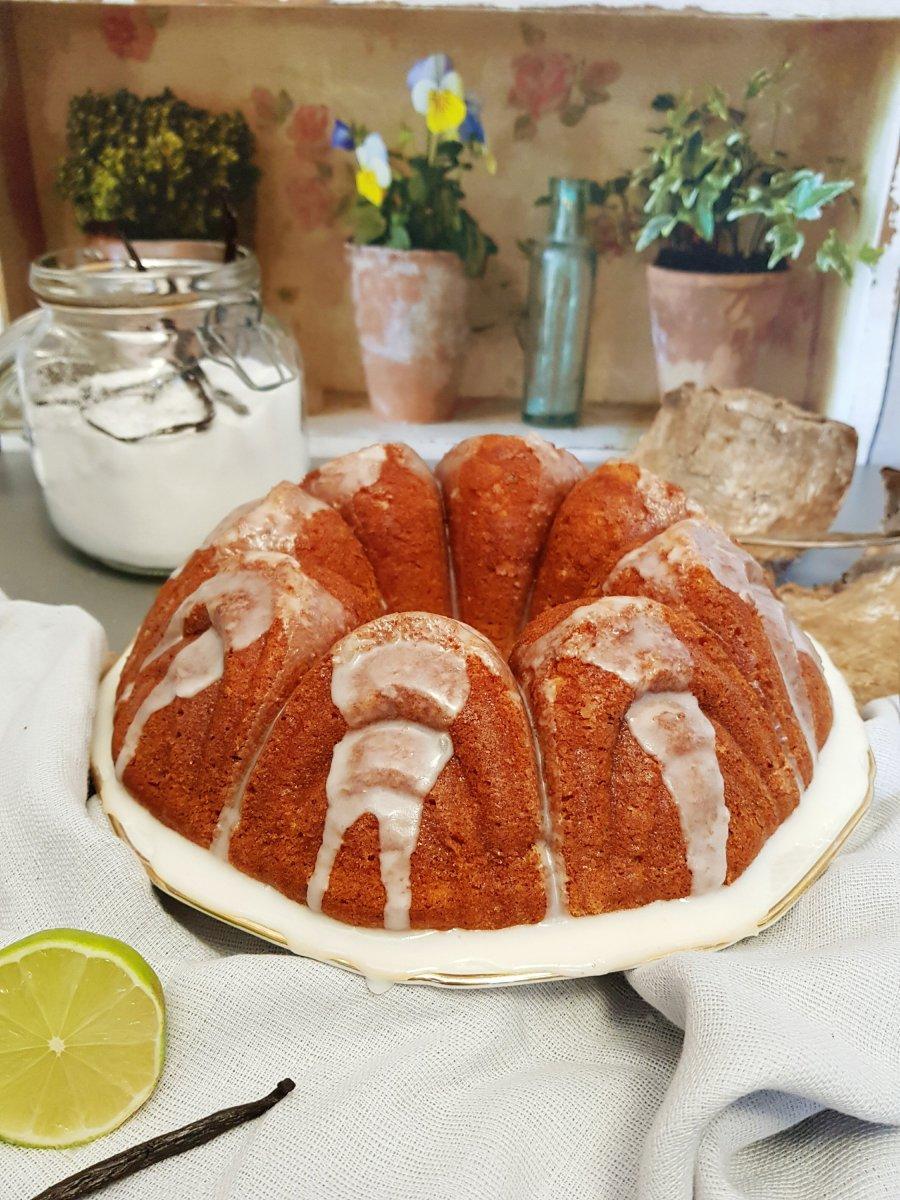 Der saftigste Limettenkuchen mit zweifach Vanille